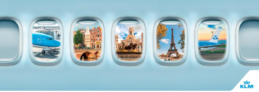 News: 3 ciudades x 1, con KLM y AirFrance