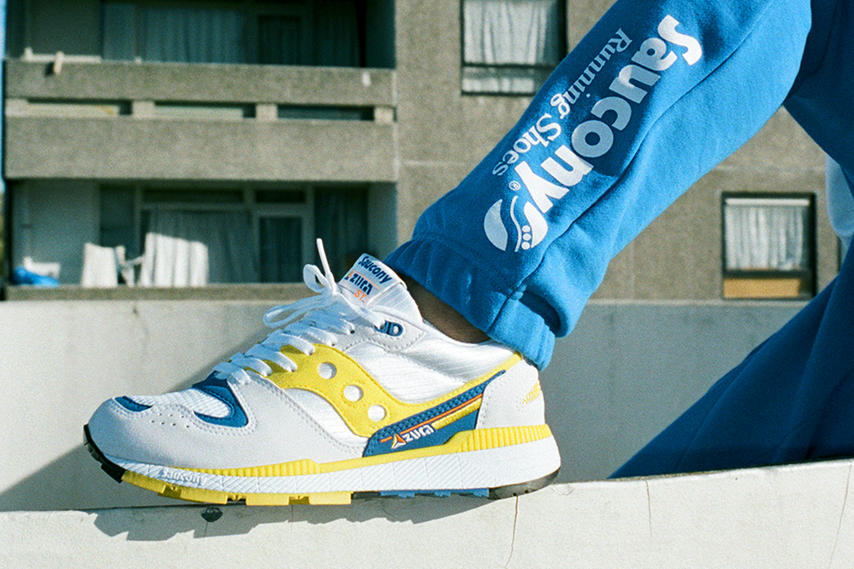 News: back to the past con Saucony