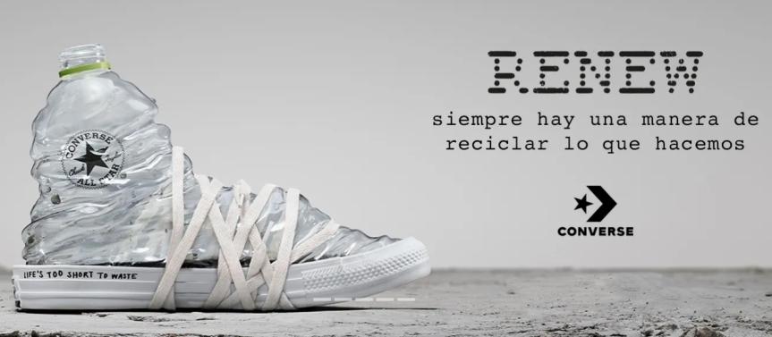 Renew: las nuevas zapatillas sustentables deConverse